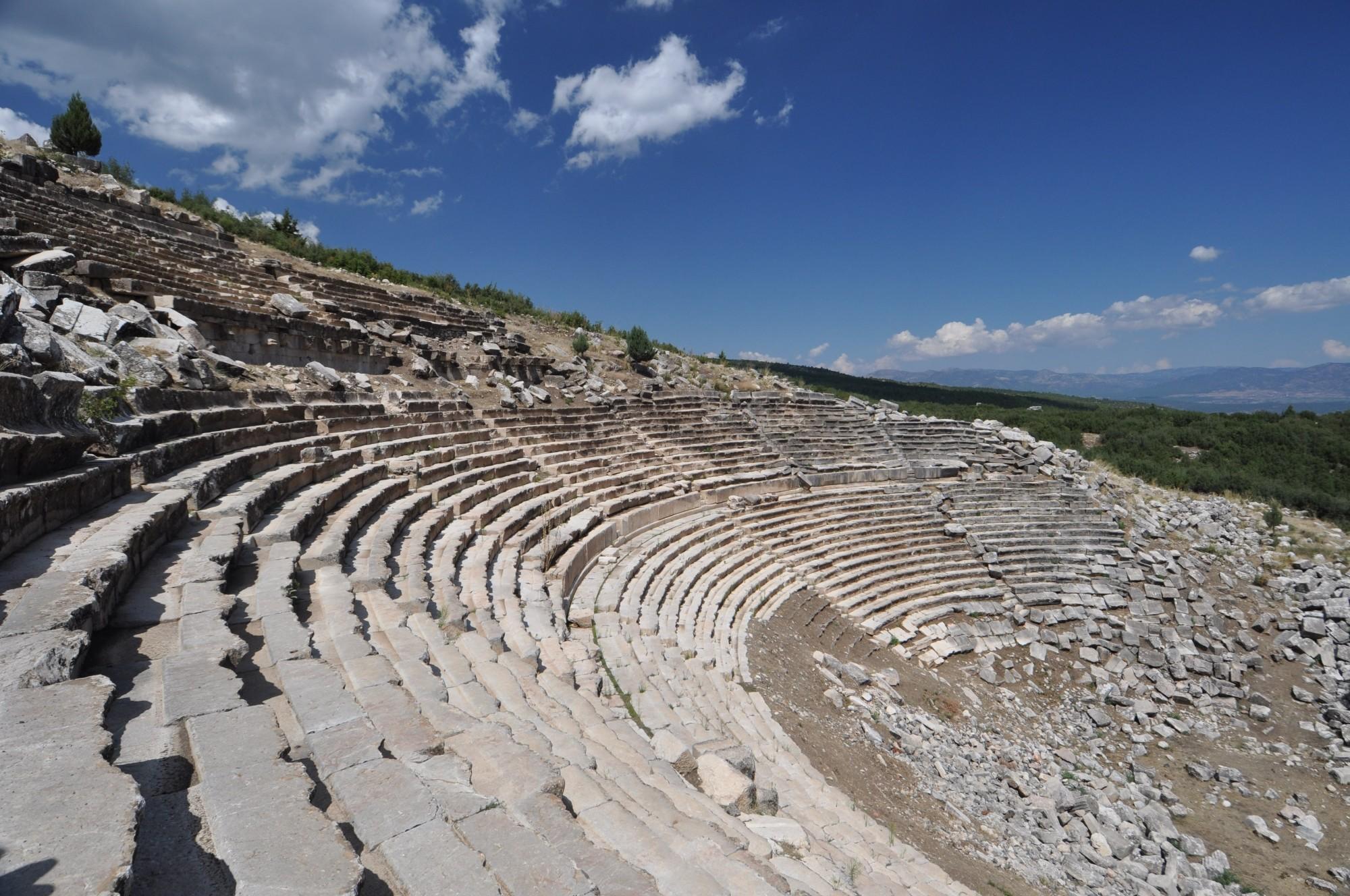 Ancient city of Kibyra - the theatre