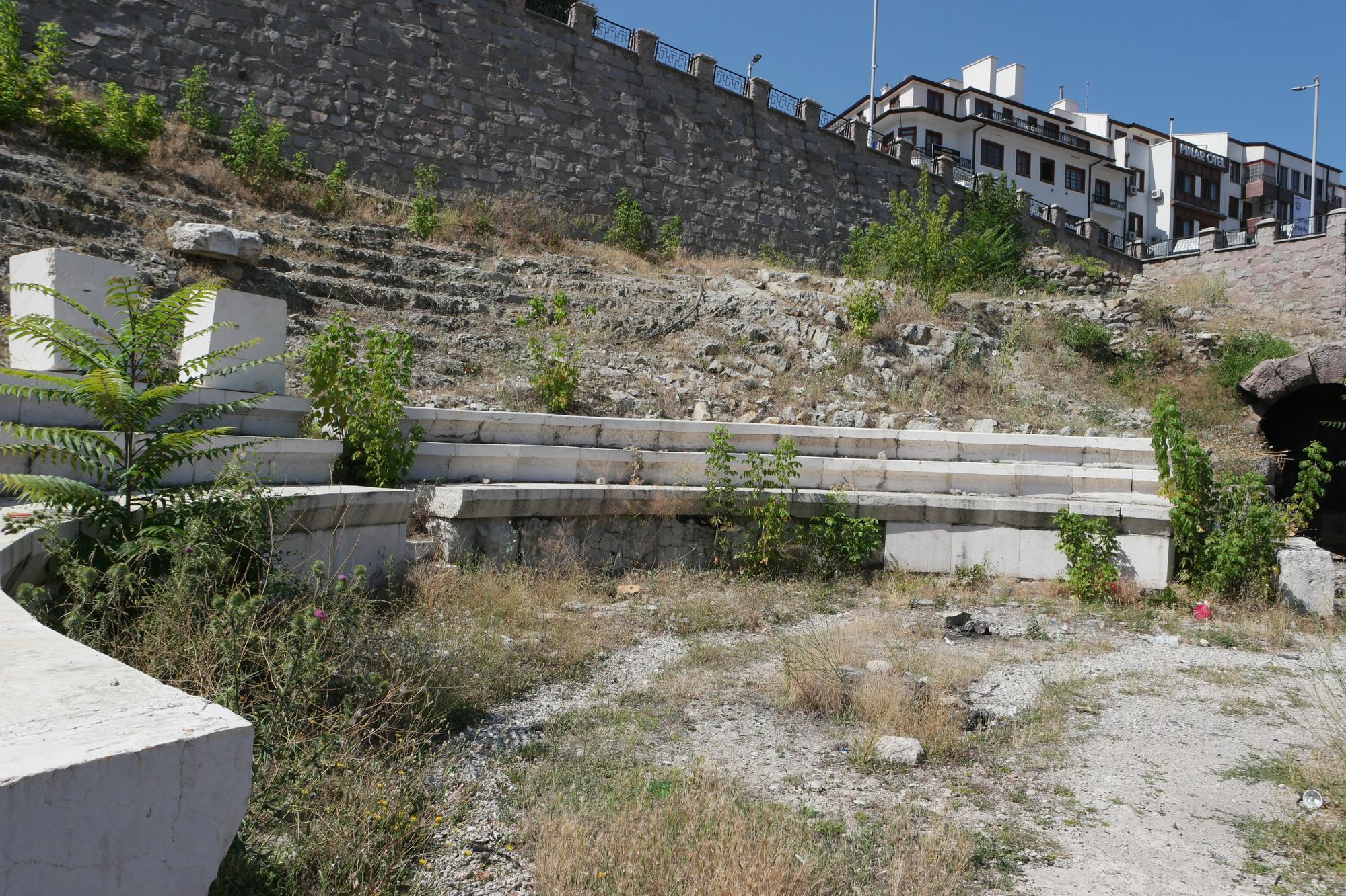 Roman theatre of Ankara