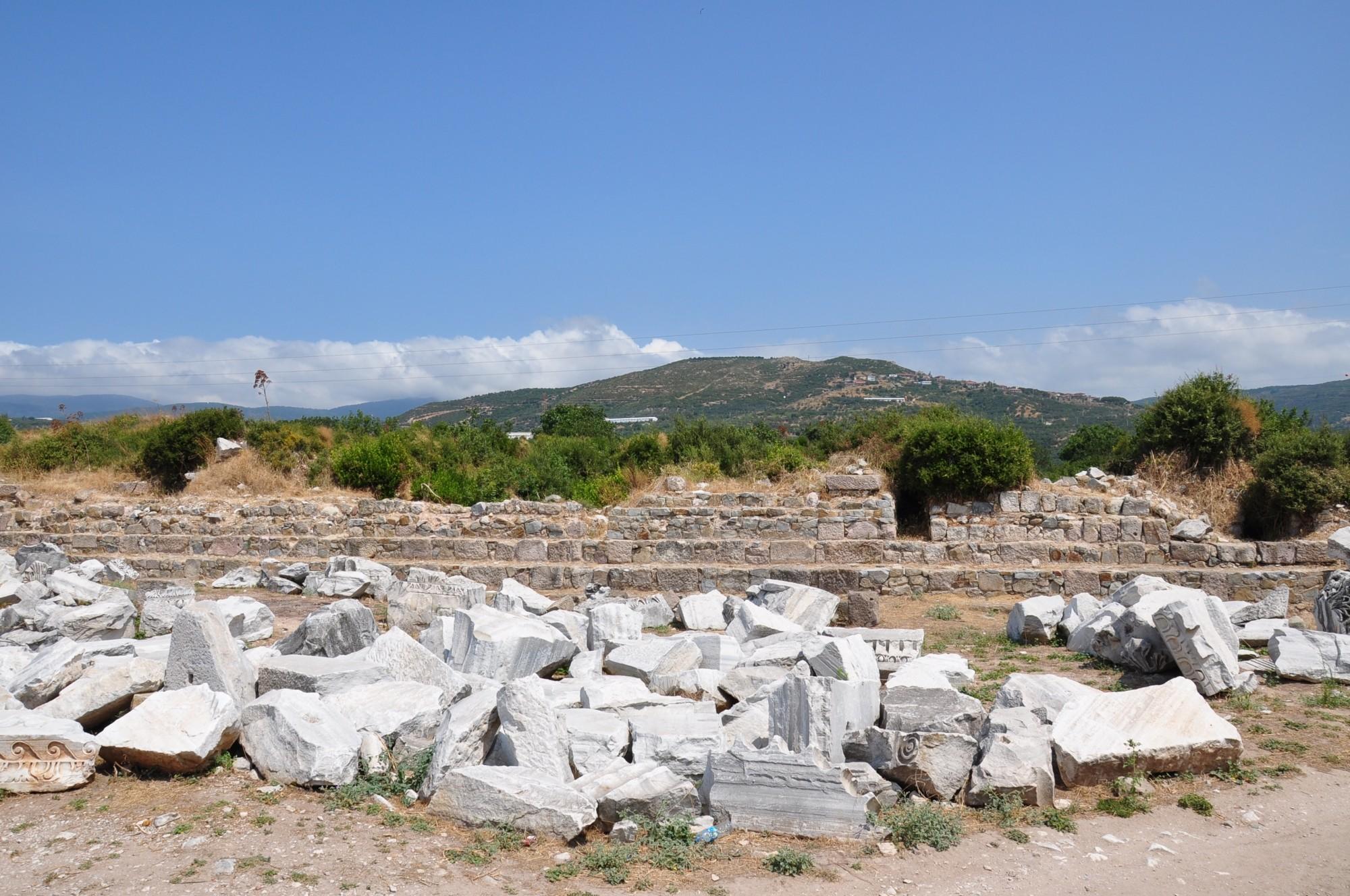 The ruins of Kyzikos