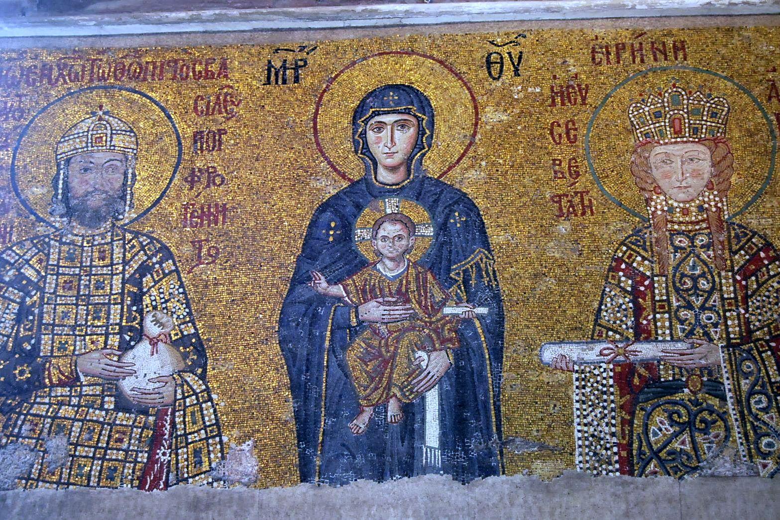 Hagia Sophia - the Comnenus mosaic