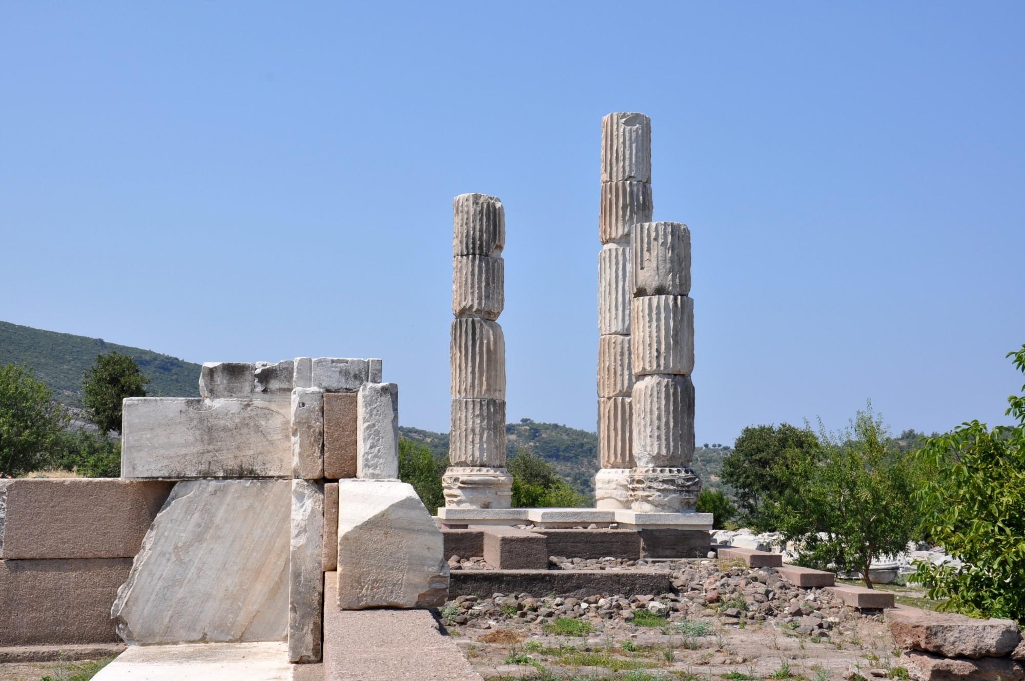 The Temple of Apollo in Gülpınar
