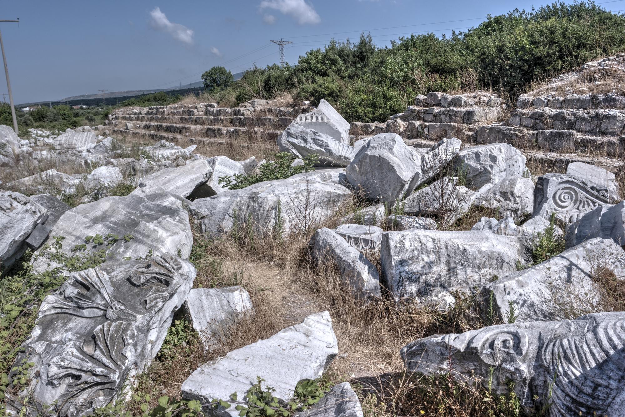Hadrian's Temple in Kyzikos