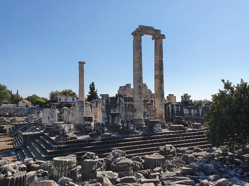 Temple of Apollo in Didyma standing proud