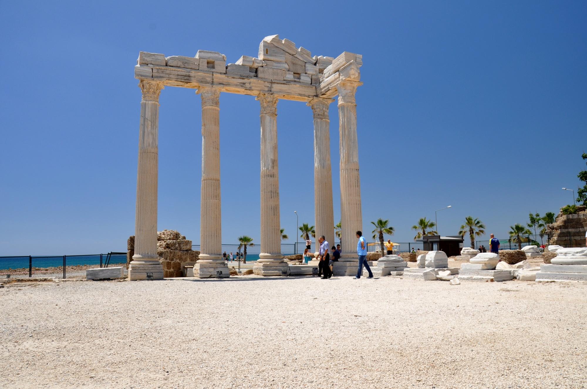Temple of Apollo in Side