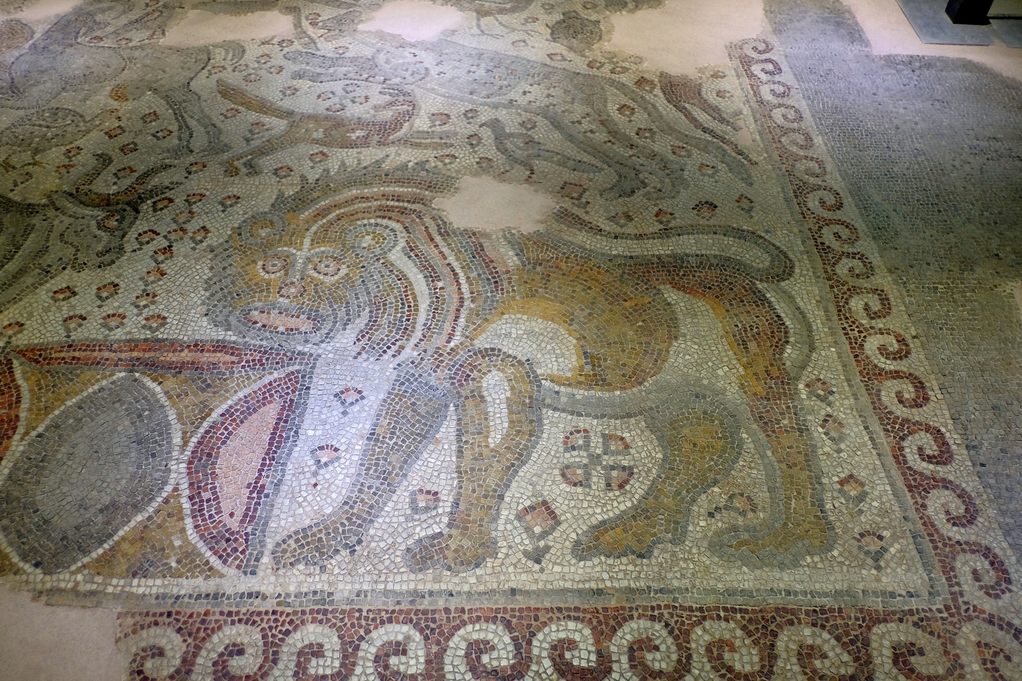 New section of Zeugma Mosaic Museum in Gaziantep