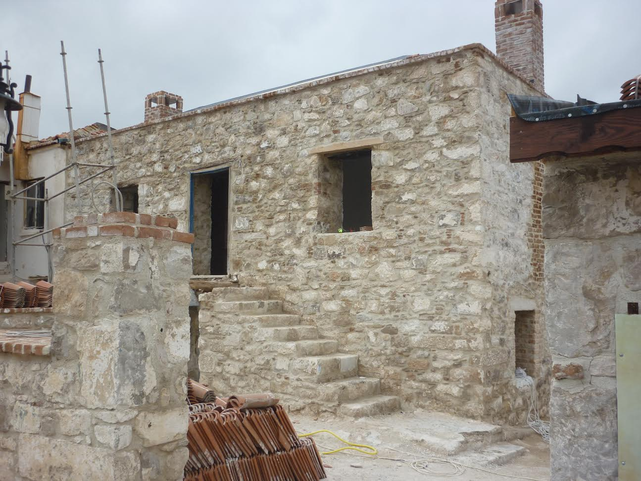 One of the Greek houses to be renovated