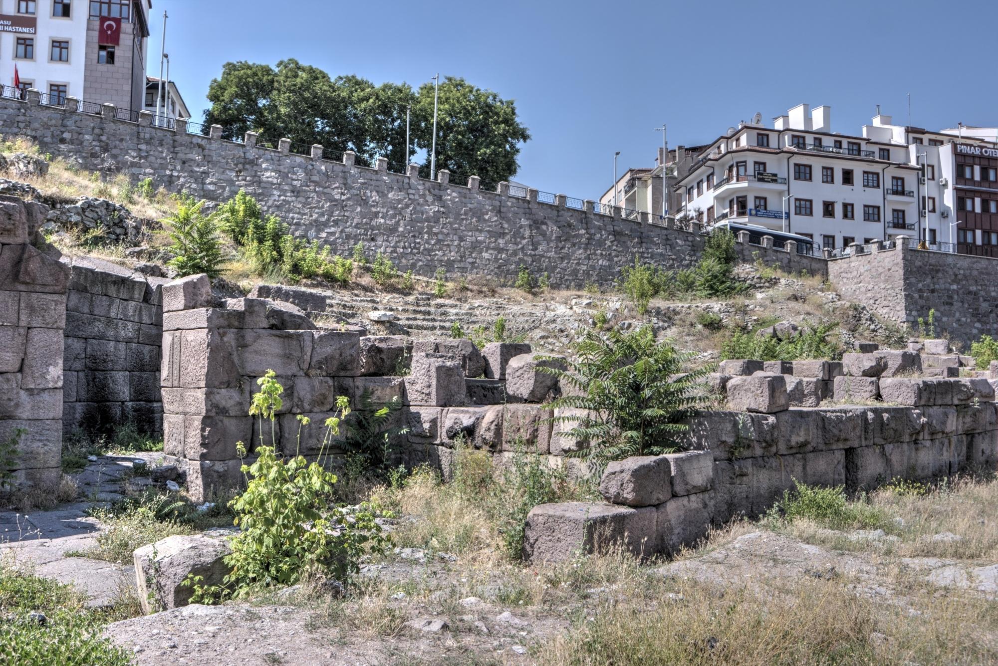 Ancient theatre of Ankara