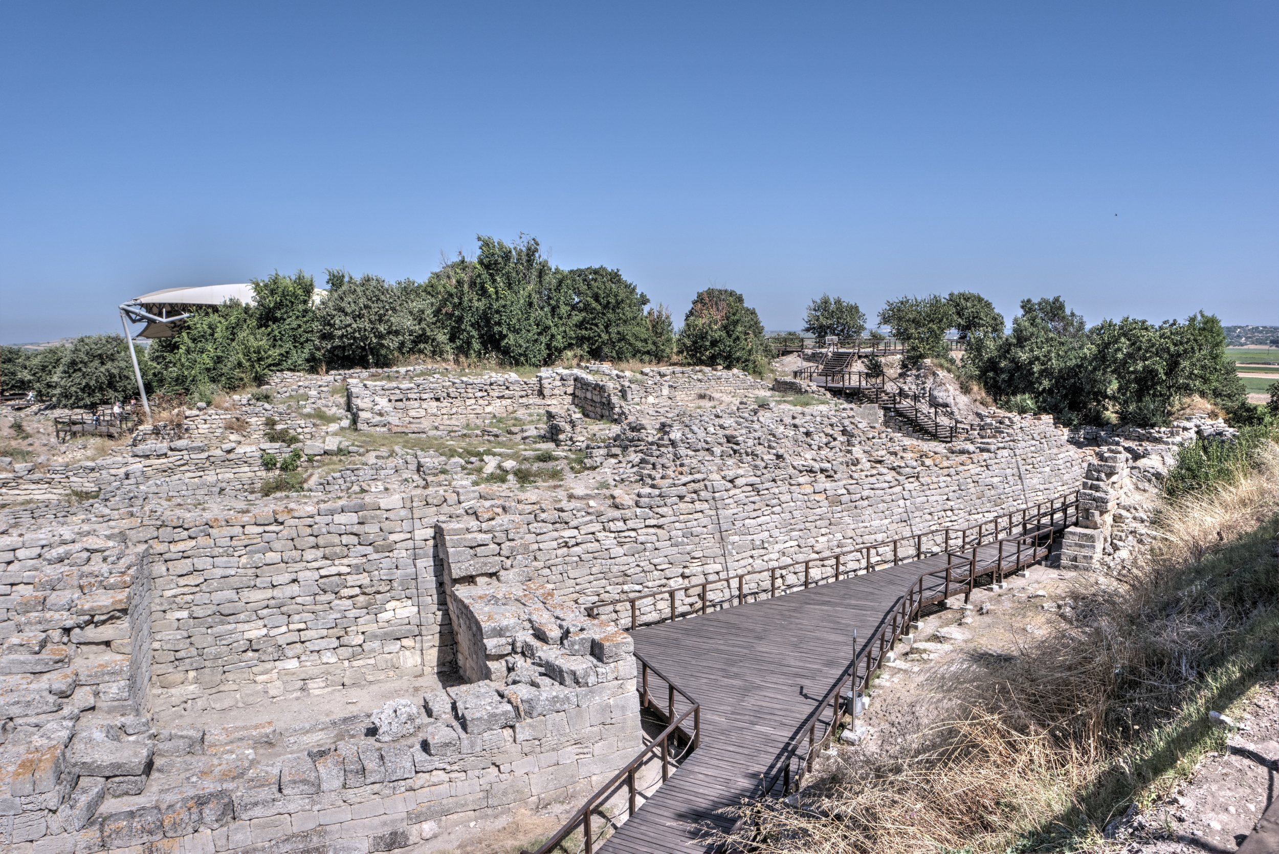 Eastern Fortifications of Troy VI