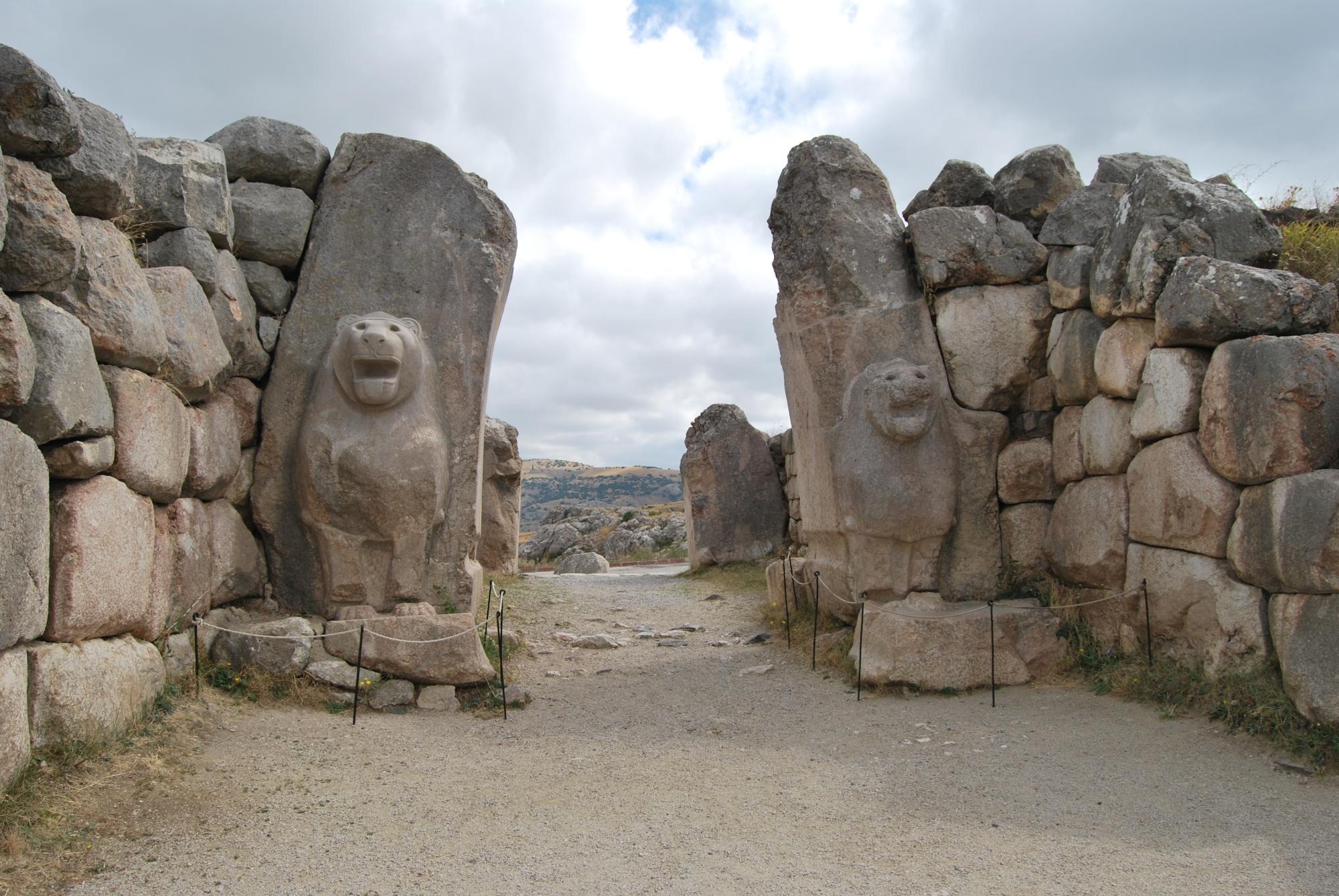 Lion Gate in Hattusa