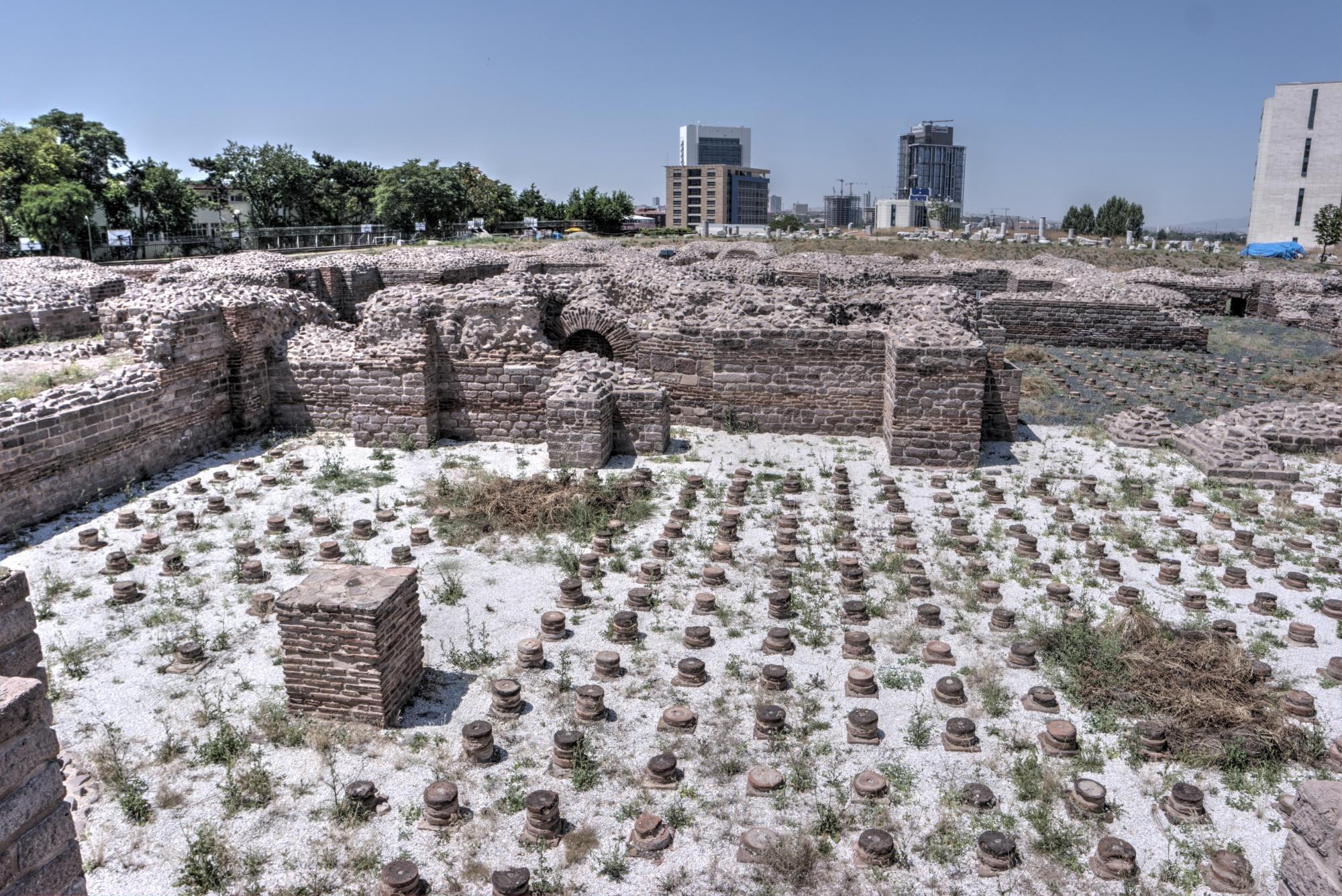 Roman Baths in Ankara