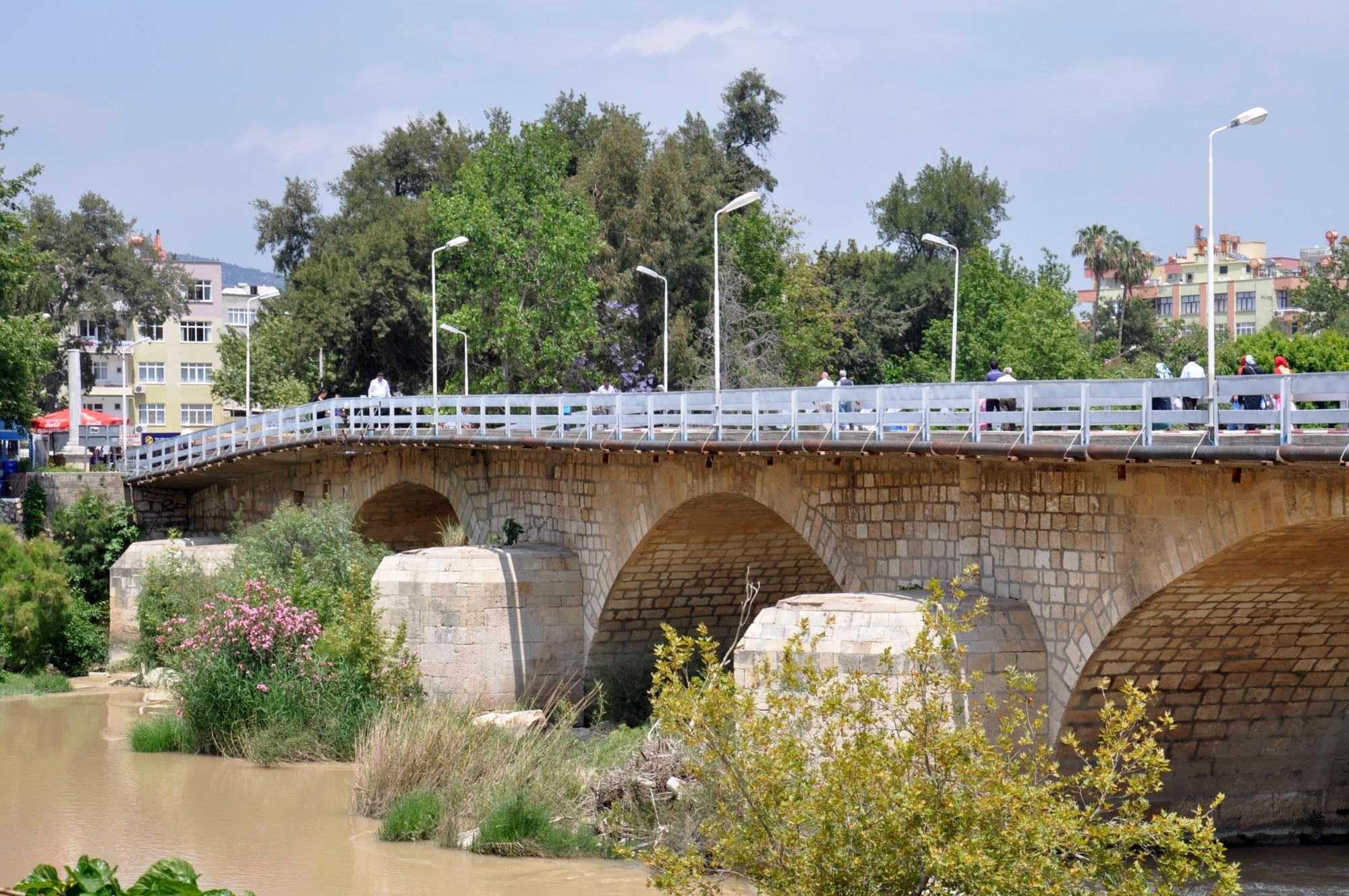 Roman bridge in Silifke