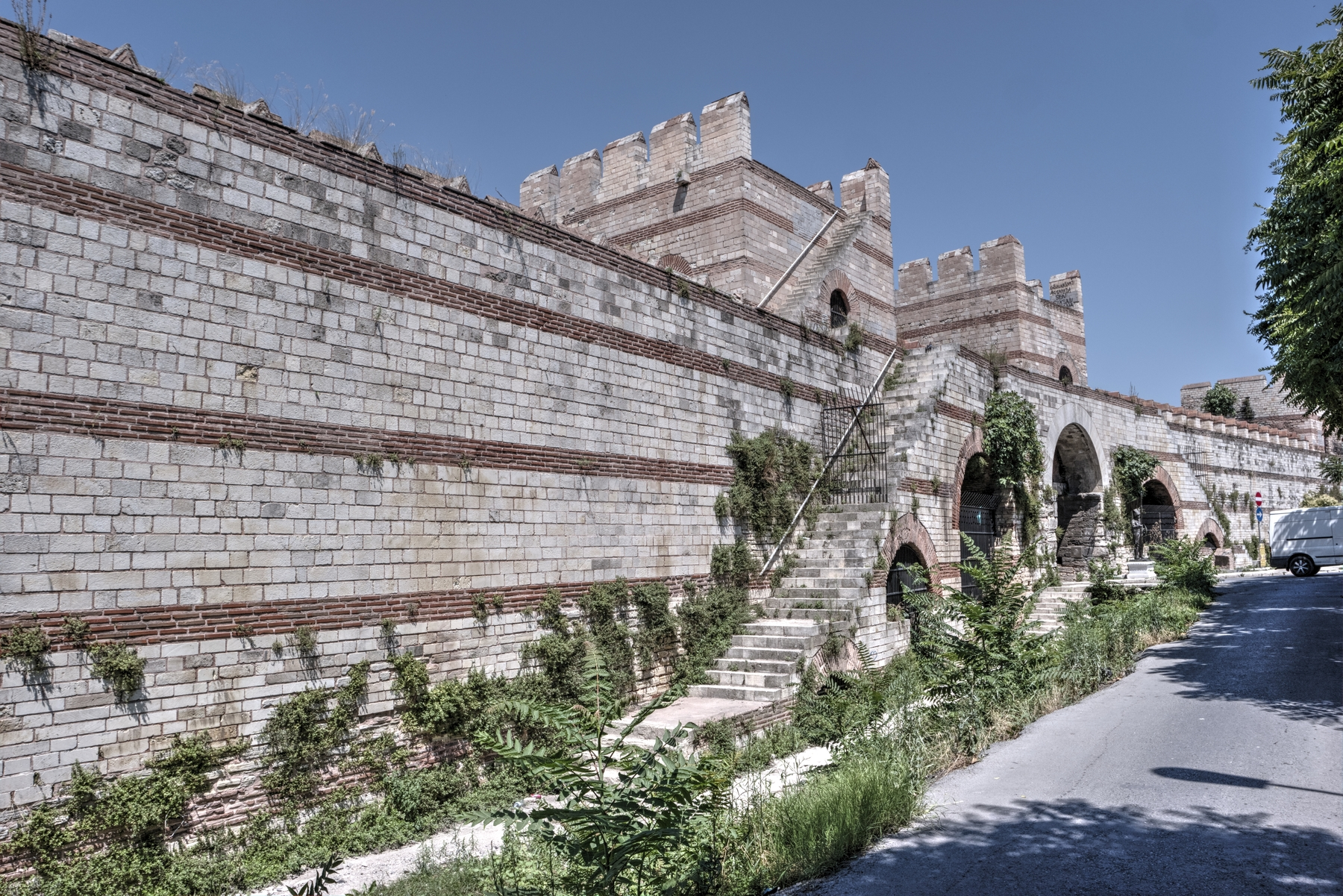 Theodosian Walls of Constantinople