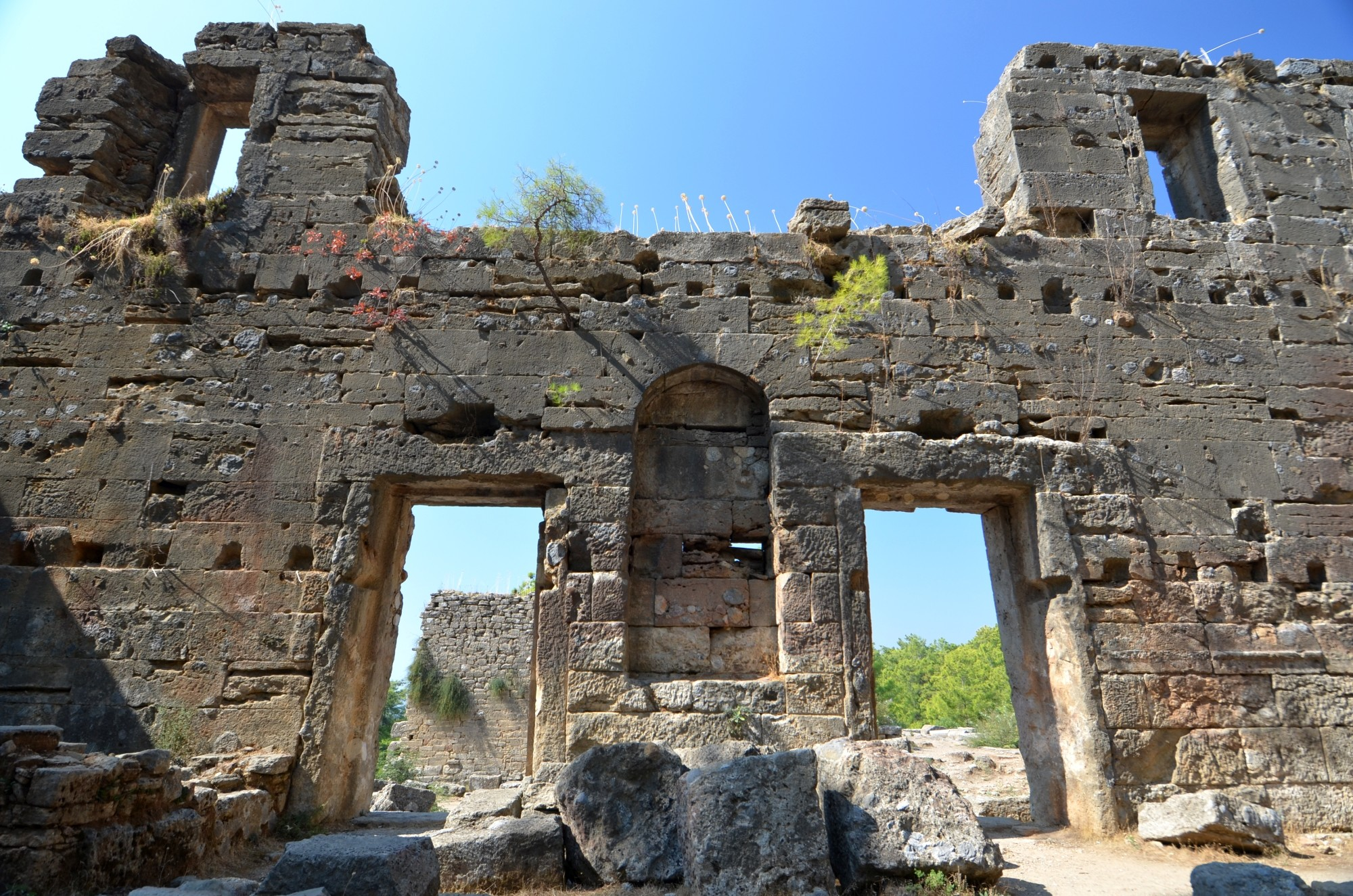 The ruins of Lyrbe