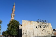 The Temple of Augustus and Hacı Bayram Mosque in Ankara