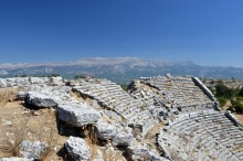 Ancient theatre in Selge