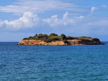 South side of the Rabbit Island in Didim