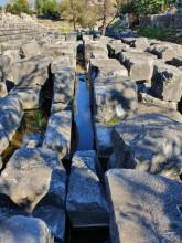 Water in Christian Basilica, Apollo Temple in Didyma