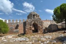 Byzantine church in Alanya Castle