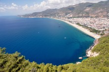 View from the castle in Alanya