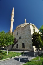 A mosque in the centre of Avanos