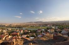 The panorama of Avanos