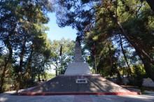 Monument commemorating the victims of the Balkan Wars in Karaağaç