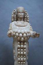 The statue of Artemis, the Ephesus Museum in Selçuk