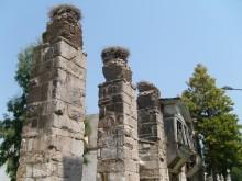 Roman aqueduct in Selçuk