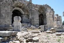 Dionysus temple in Side