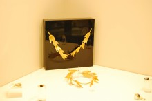 Gold Roman wreaths