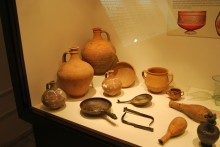 Finds from Çömlekakpınar - Ikiztepe tumulus, Archaeological and Ethnographic Museum in Edirne