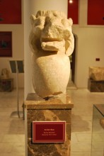 Lion's head from Enez , Roman period, Archaeological and Ethnographic Museum in Edirne
