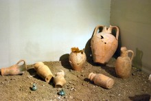 Finds from the area of the Macedonian Tower in Edirne, Archaeological and Ethnographic Museum in Edirne