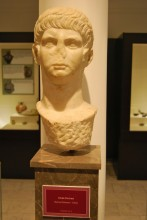 Male head from Enez, Roman period, Archaeological and Ethnographic Museum in Edirne