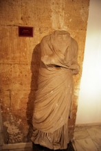 Statue from Enez, Roman period, Archaeological and Ethnographic Museum in Edirne