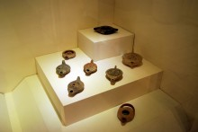 Collection of terracotta lamps, Archaeological and Ethnographic Museum in Edirne