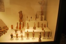 Collection of terracotta statuettes from Enez, Hellenistic and Roman periods, Archaeological and Ethnographic Museum in Edirne
