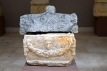 Roman period ossuary in the museum's garden