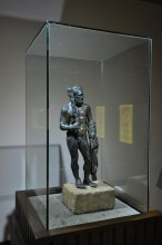 Bronze statue of Hercules from the 2nd century AD