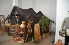 The tent of the nomads
