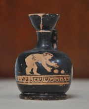 Red-figure pottery from Tenedos (Bozcaada), the 5th or the 4th century BCE, Archaeology Museum in Çanakkale