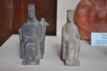 Kybele figurines  from Tenedos (Bozcaada), the 5th century BCE, Archaeology Museum in Çanakkale