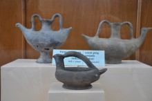 Local ceramics from Tenedos (Bozcaada), the 7th century BCE, Archaeology Museum in Çanakkale