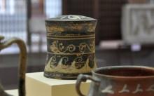 Ceramics from Dardanos tumulus, the 4th century BCE - the 2nd century CE,  Archaeology Museum in Çanakkale