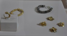 The treasure from Dardanos necropolis, the 4th century BCE, Archaeology Museum in Çanakkale
