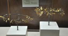 Golden wreaths from Dardanos, the 4th century BCE, Archaeology Museum in Çanakkale