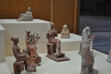 Musicians figurines from Assos, the 4th century BCE, Archaeology Museum in Çanakkale