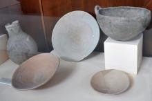 Pottery from Troy II (2550-2350 BCE), Archaeology Museum in Çanakkale