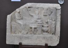 Marble gravestone from Pegae (Biga), the 2nd century CE, Archaeology Museum in Çanakkale