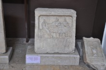 Grave stele from Kyzicus, the 2nd century BCE, Archaeology Museum in Çanakkale